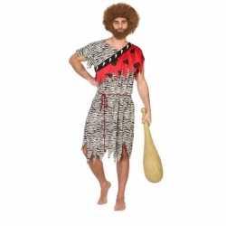 Holbewoner/caveman thag verkleed carnavalsoutfit mannen