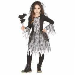 Horror bruid carnavalsoutfit kleding meisjes