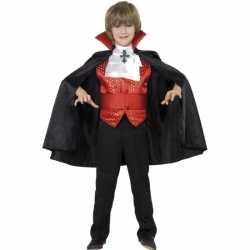 Horror Dracula kinder carnavalsoutfit 4 delig