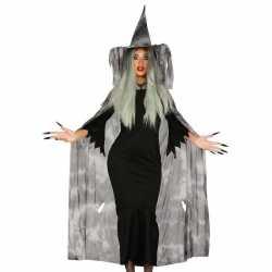 Horror heksencape horror carnavalsoutfit hoed kleding dames