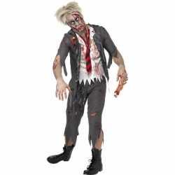 Horror High school zombie carnavalsoutfit kleding mannen