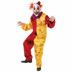 Horror Horror clown carnavalsoutfit