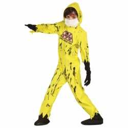 Horror Nuclear zombie carnavalsoutfit kleding kinderen