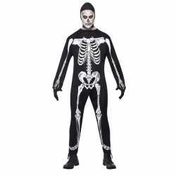 Horror skelet carnavalsoutfit kleding volwassenen