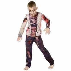 Horror Zombie carnavalsoutfit kleding kinderen