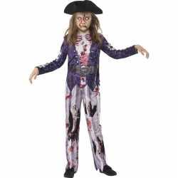 Horror zombie piraat carnavalsoutfit kleding meiden