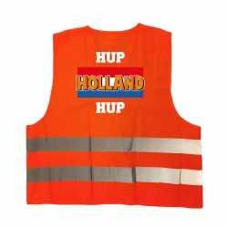 Hup holland hup oranje veiligheidshesje ek / wk supporter outfit kleding volwassenen