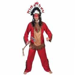 Indiaan lootah verkleed carnavalsoutfit kleding mannen