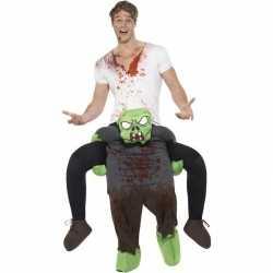 Instapcarnavalsoutfit zombie kleding volwassenen