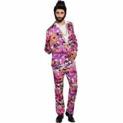 Jaren 80 carnavalsoutfit kleding mannen