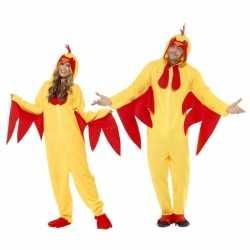 Kip carnavalsoutfit kleding volwassenen