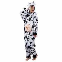 Koe dierencarnavalsoutfit kleding dames