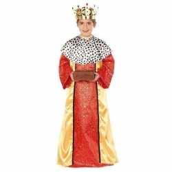 Koning melchior carnavalsoutfit kleding jongens 3 koningen carnavalso