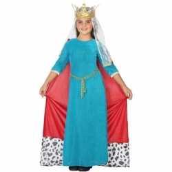 Koningin carnavalsoutfit kleding meisjes