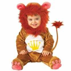 Leeuwen baby carnavalsoutfit