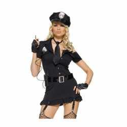 Leg Avenue sexy politie carnavalsoutfit kleding dames