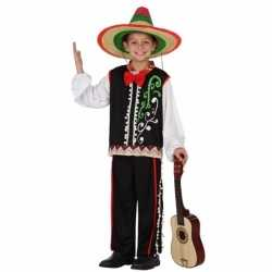 Mexicaanse senor carnavalsoutfit kleding jongens