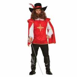 Musketiers carnavalsoutfits mannen