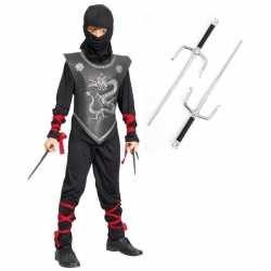 Ninja carnavalsoutfit maat l dolken kleding kinderen