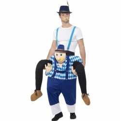 Oktoberfest verkleedcarnavalsoutfit man op bayerische man