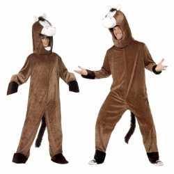 Paarden carnavalsoutfit kleding volwassenen