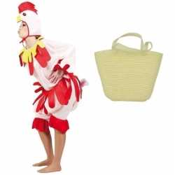 Paaskip carnavalsoutfit paasmandje kleding volwassenen