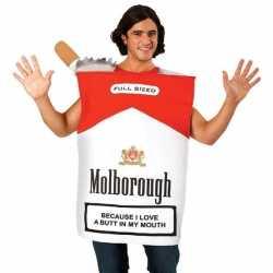 Pakje sigaretten carnavalsoutfit Molborough