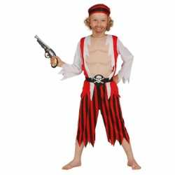 Piraten carnavalsoutfit kleding jongens