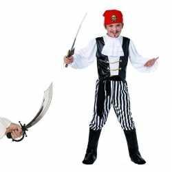 Piraten carnavalsoutfit maat s zwaard kleding kinderen