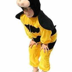 Pluche bijen carnavalsoutfit kinderen