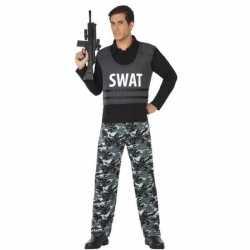 Politie swat verkleed pak/carnavalsoutfit kleding volwassenen