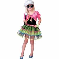 Popster carnavalsoutfit kleding meisjes