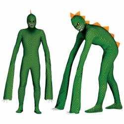 Reptielen monster carnavalsoutfit kleding mannen