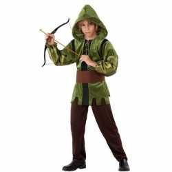 Robin hood verkleed carnavalsoutfit 3 delig kleding kinderen