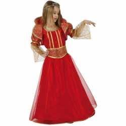 Rode koningin carnavalsoutfit kleding meisjes