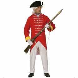 Rode soldaat carnavalsoutfit
