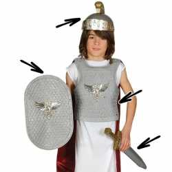 Romeinse ridder carnavalsoutfit kleding kinderen