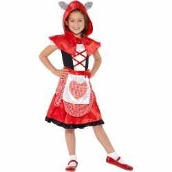 Roodkapje carnavalsoutfit kleding meisjes
