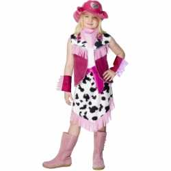 Roze Cowgirl carnavalsoutfit