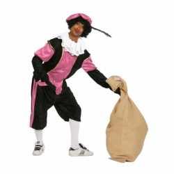 Roze zwarte pieten carnavalsoutfit budget