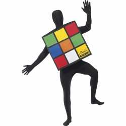 Rubiks kubus carnavalsoutfit