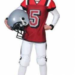Rugbyspeler carnavalsoutfit kleding kinderen