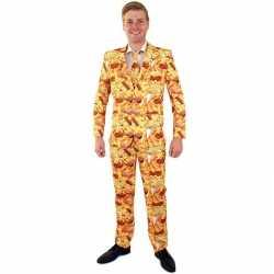Snackbar thema kleding mannen carnavalsoutfit