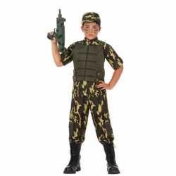 Soldaat/leger carnavalsoutfit kleding jongens