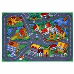 Speelkleed dorp wegen 95 x 133 cm