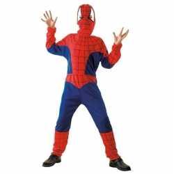 Spinnenheld carnavalsoutfit kleding kinderen