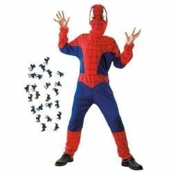Spinnenheld carnavalsoutfit maat m spinnetjes kleding kinderen