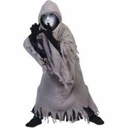 Spook carnavalsoutfit capuchon kleding kinderen