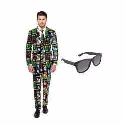 Star wars kleding mannen carnavalsoutfit maat 52 (xl) gratis zonnebri