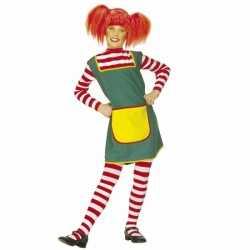 Sterk meisje carnavalsoutfit kleding meiden